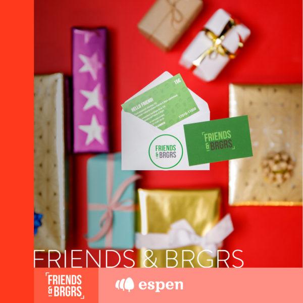 Joululahjavinkit Friends & Brgrs